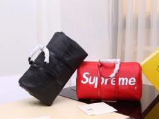 Louis Vuitton ルイヴィトン Supreme エピ Keepall 旅行用バッグ 良品最高品質コピーバッグ